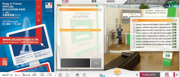 Virtual Education Fair: Studialis just a click away!