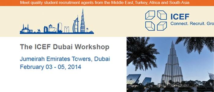 Studialis in the ICEF Dubai Workshop